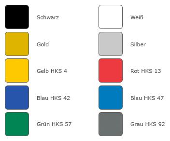 Beispielfarben