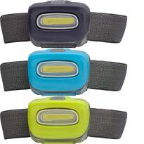 LED Kopflampe für Jogger Spaziergänger mit verstellbarem Winkel REFLECTS